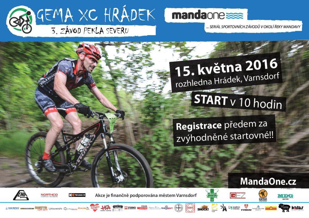 plakát XC Hrádek
